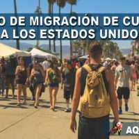 Exceso de migracion de Cubanos a los Estados Unidos