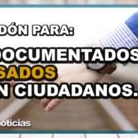 PERDON PARA INDCOMENTADOS CASADOS CON CIUDADANOS