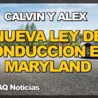 Nueva Ley de Conducción Calvin y Alex en Maryland